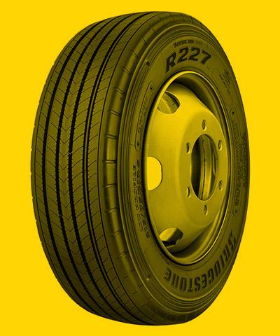 Foto de um pneu para Trajeto Urbano com Baixa Severidade