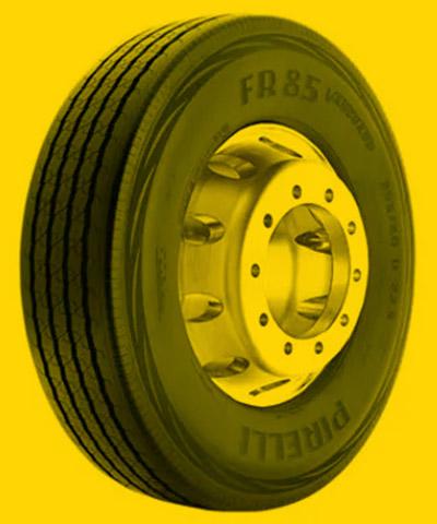 Foto de um pneu para Trajeto Urbano com Média Severidade